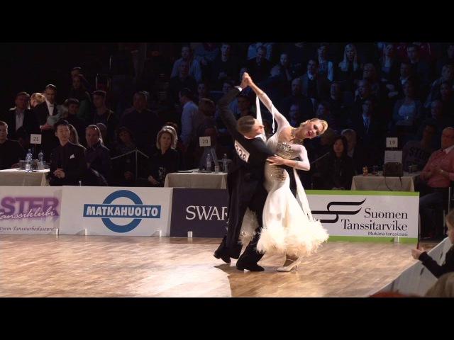 Dmitry Zharkov - Olga Kulikova | Slow Waltz | Finland Open 2016 Grand Slam