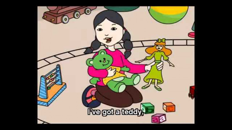 My Toys song - English for Children Nursery Rhymes Songs - English lively songs and chants
