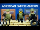 Brick Warfare The American Sniper/Anti-Terrorism LEGO KnockOff Minifigures Special Forces