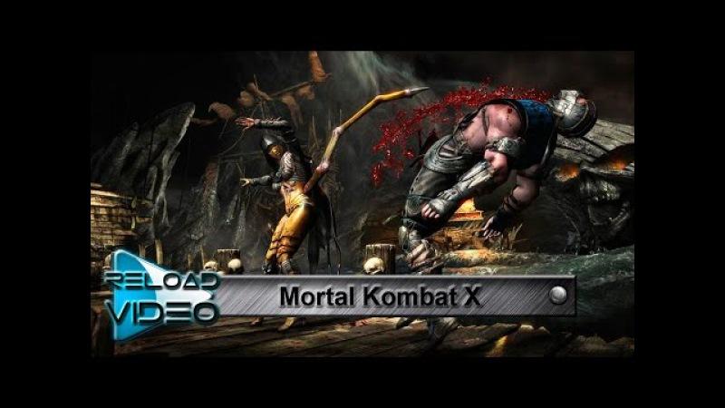 саундтрек Mortal Kombat X The Enigma TNG Mortal Kombat X Theme клип на игру