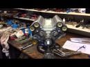 Fuel injected model V8 1 4 scale running and V10 1 3 scale progress report