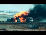 Сирия ВКС России уничтожила конвой боевиков ИГ 24/12/2015