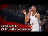 Russell Westbrook Full Highlights 2015.12.10 vs Hawks - 23 Pts, 10 Assists, 6 Rebs!