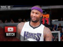 DeMarcus Cousins Full Highlights vs Knicks (2015.12.10) - 27 Pts, 11 Reb
