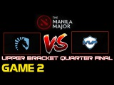 Manila Major 2016 - Team Liquid vs MVP Phoenix - Upper Bracket Quarter Final - Game 2