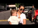 Kourtney Kardashian Looks Glum When Asked About Scott Disick's Nightclub Brawl In Cannes
