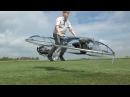 Homemade Hoverbike Самодельный Ховербайк Летающий мотоцикл