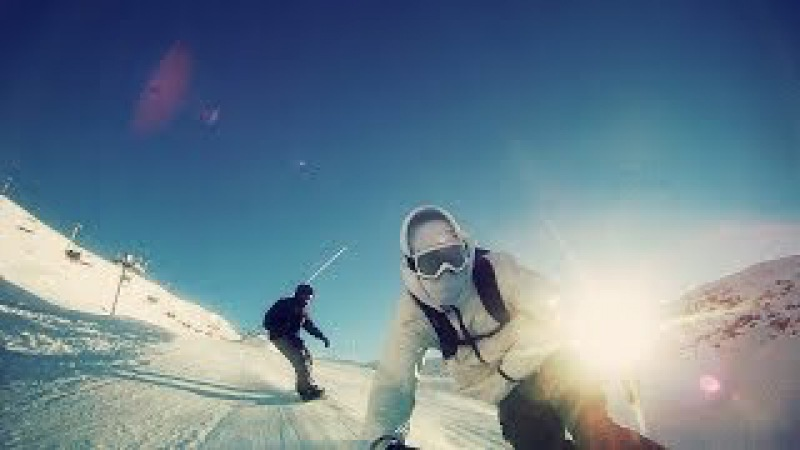 Snowboarding in France Les 2 Alpes ★ PIRAAT