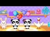 Panda Bear! Play online! Cartoon! Медвежонок Панда!