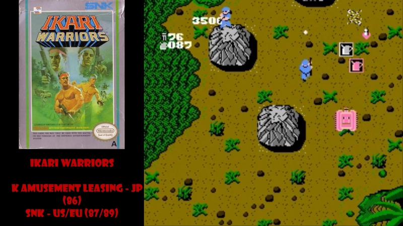 All NES Games⁄Все Игры на Денди - 10. Ikari Transformers