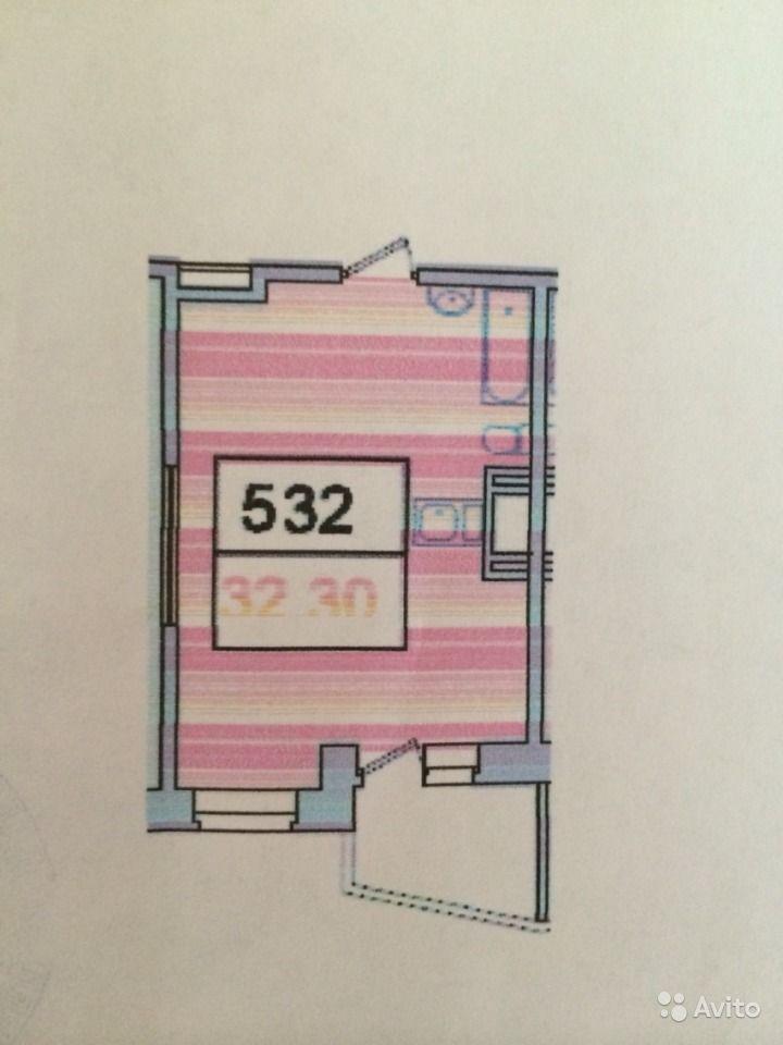 Интерьер квартиры-студии 32 м в Москве.