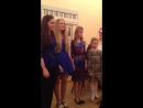 Девочки красиво поют