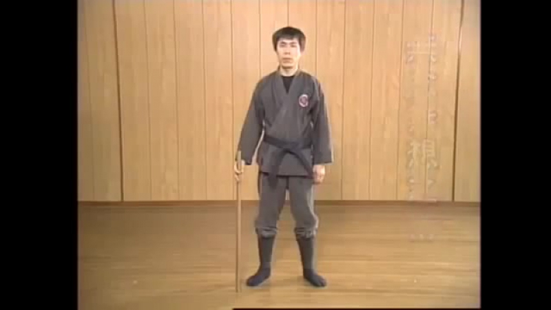 Masaaki Hatsumi Kukishinden Ryu Yoroi and Hanbo