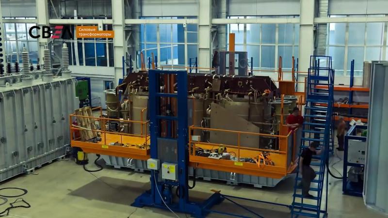 Svel 250mva-- Самый мощный автотрансформатор СВЭЛ на Урале