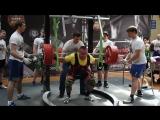 Громыко Виталий. Приседание 330 кг в в/к до 110 кг