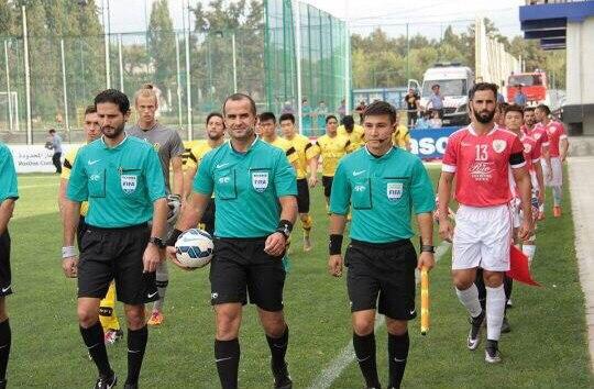 Судьи казахстана по футболу