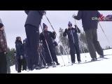 Уступите парню лыжню. Тренировка СКА