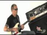 Gary Hoey on the Set wRock House EVH 5150 III