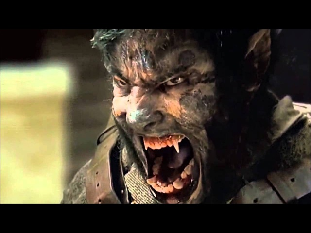 The Wolfman (2010) Scene: I will kill all of you!/Asylum Escape.