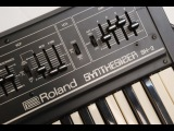 Roland SH-2 Monophonic Analog Synthesizer Demo