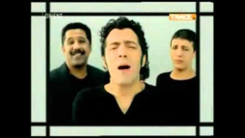 Comme D'habitude video clip 1 2 3 soleil Cheb Khaled Faudel Rachid Taha