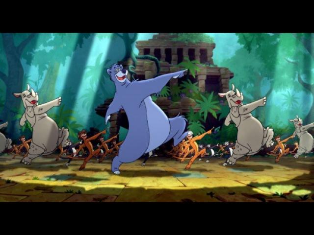 Книга джунглей 2 The Jungle Book 2 2003 трейлер ENG