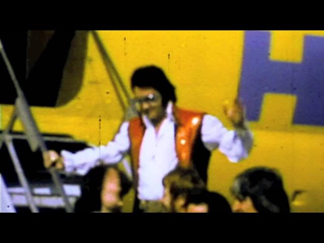 Elvis at Fresno Air Terminal, 1973