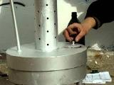 печка буржуйка на отработке