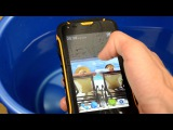 Видео обзор Jeep F605 - защищенный смартфон