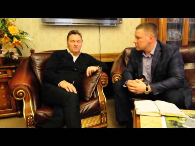 Геннадий Балашов и Олег Трякин в совместном проекте Физика бизнеса