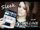 Sleek and Maybelline The blus the NUDES/ Тестируем косметические новинки +свотчи