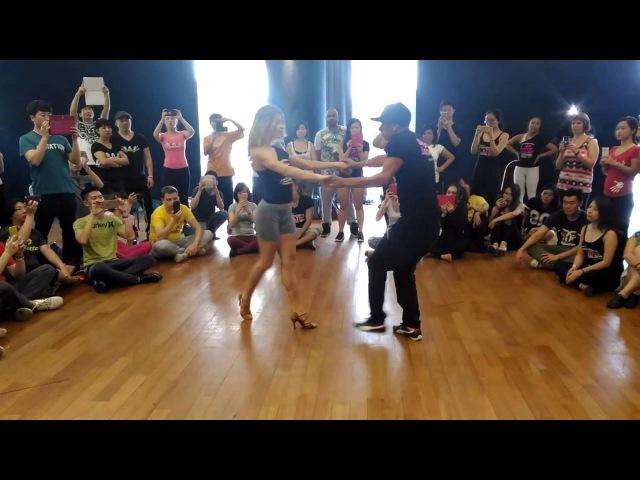 Brazilian Zouk RnB workshop @ Singapore International Latin Festival 2016