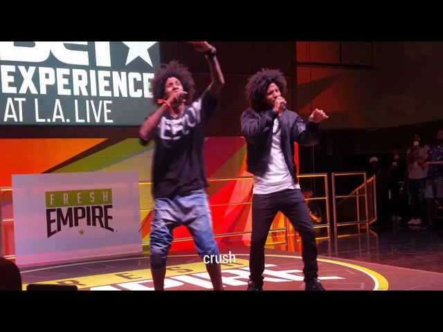 Les Twins - BETX WOD LA 2016