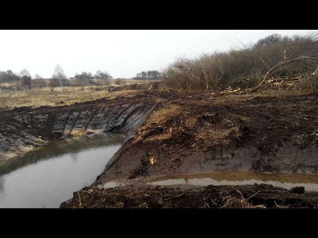 Как выкопать пруд экскаватором детальная инструкция youtube 2016 смотреть онлайн без регистрации