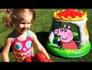 ✿ СВИНКА ПЕППА Королевский Замок Пеппы Игры Детей Peppa Pig Castle Play Super toy Пеппа на Русском