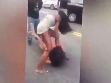 драка с проституткой