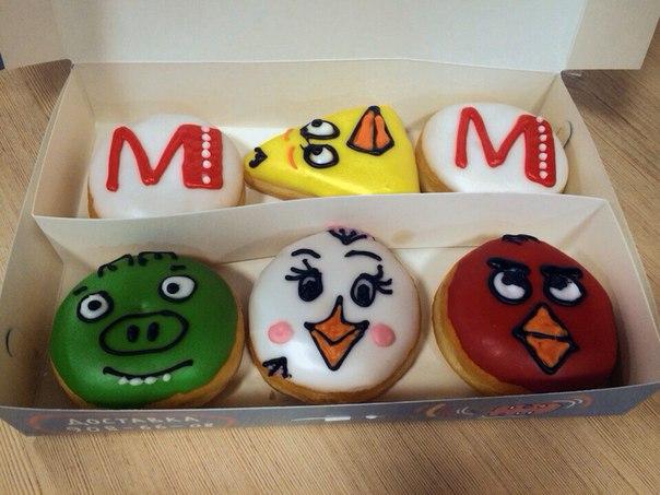 Угощения для наших гостей на премьере «Angry Birds в кино» ☺️