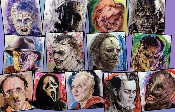 Рисованные фильмы ужасов