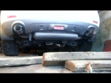 Изменение звука и насадок штатной выхлопной системы Nissan Murano, PRIME (Петрозаводск)