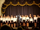 И.С.Бах, стихи Ю. Энтина, перелож. для хора Д. Тухманова. Живая музыка