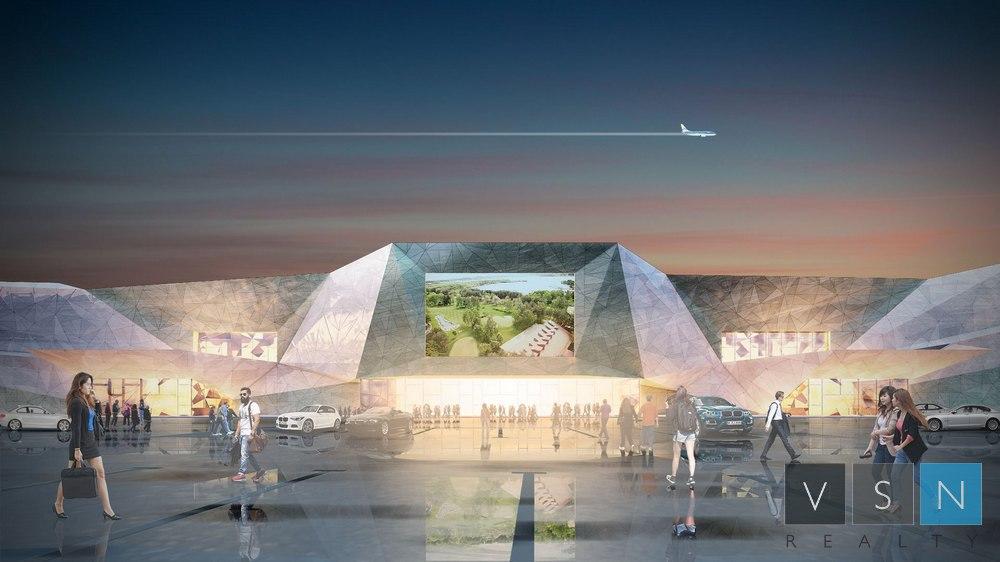 В Подмосковье построят придорожный торговый центре в форме НЛО