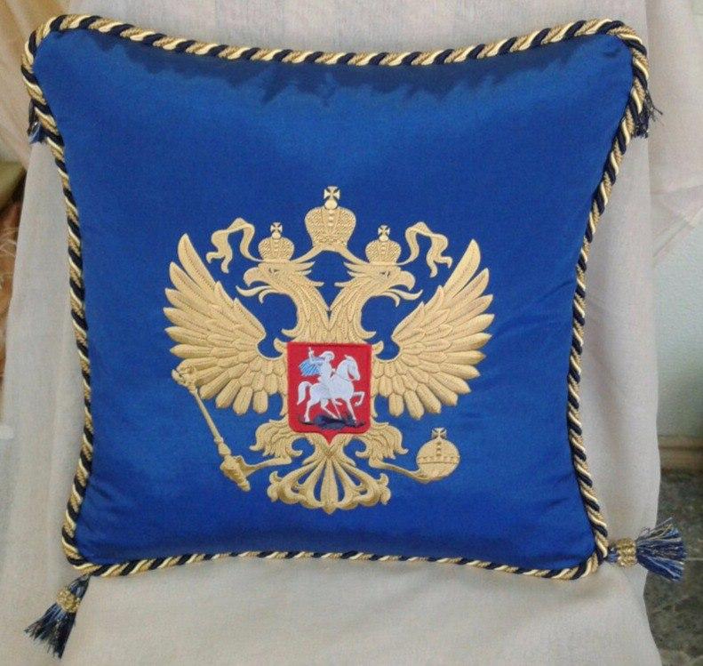 бодушка с гербом Российской Федерации
