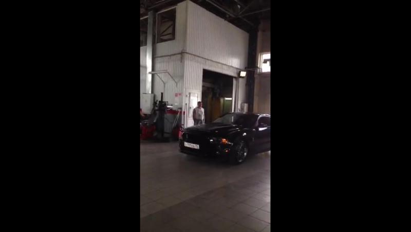 Perescope Коммерческая съемка с Mustang Shelby GT 500