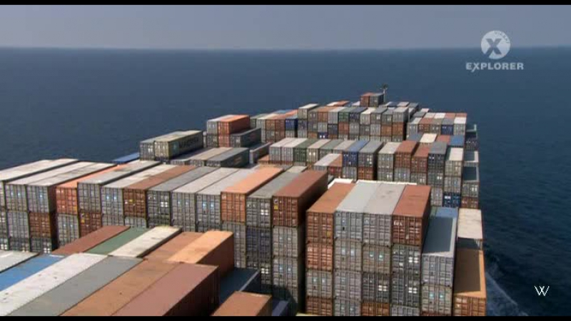 Discovery: Могучие корабли Емма Маерск / Emma Maersk