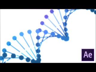 Create a 3D DNA Strand in After Effects + Free Project File