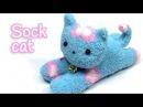 DIY crafts SOCK CAT - Innova Crafts