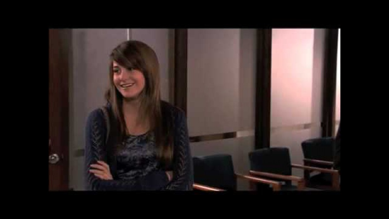 The Secret Life of the American Teenager- Bloopers Shai's Surprise