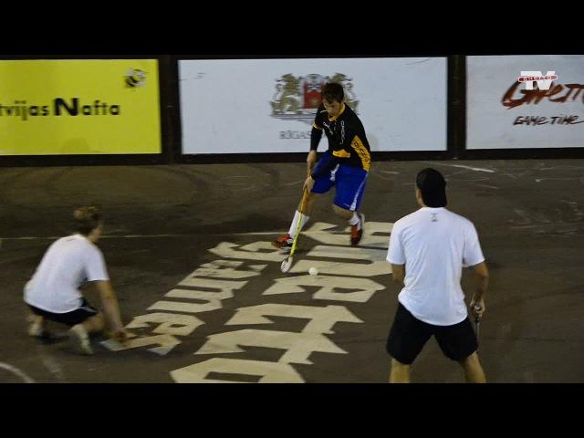 Ghetto Floorball finālspēlē Oxdog Team/Posantre vs EŠ-PĒ-VĒ