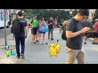 Pokemon Go. Ажиотаж в Нью-Йорке