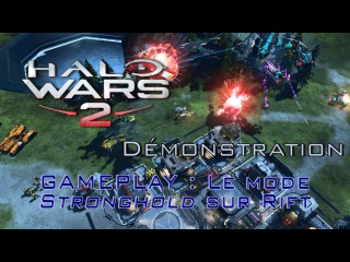 Halo Wars 2 - Gameplay Multiplayer : Strongholds on Rift (Demo Gamescom)